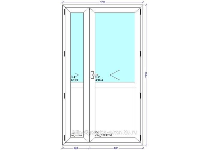 Штульповая дверь купить по цене 9500.00 в компании пластиков.